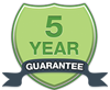 All Mountain Fencing work comes wit a 5 year guarantee