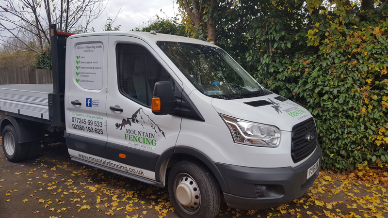 Mountain Fencing Van