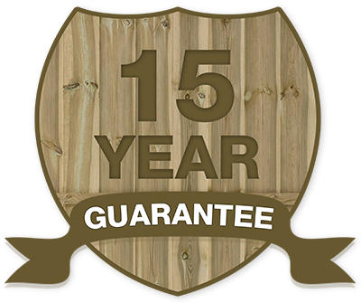 15 year guarantee on all Mountain Fencing fence panels!