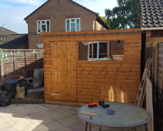 12 x 8ft Pent Shed